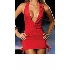 שמלה דגם DG אדום